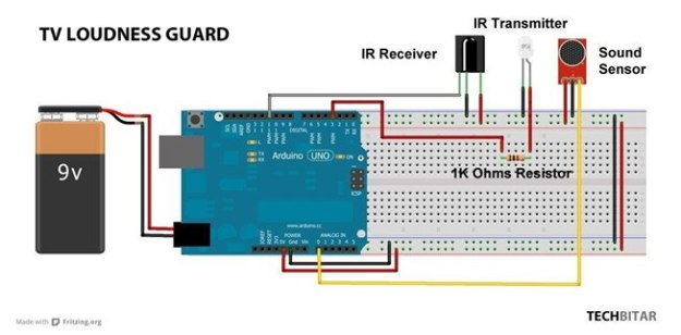 Arduino IR Connetion