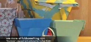 How To Make A Paper Flower Pot Papercraft Wonderhowto