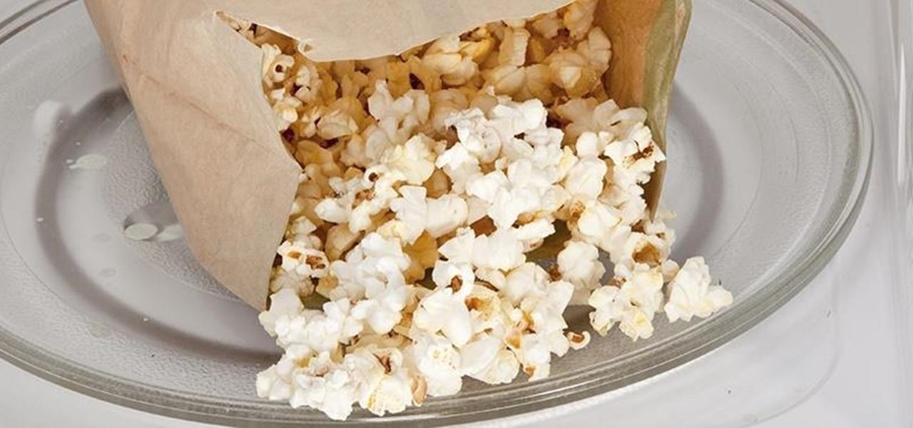 perfectly fluffy microwave popcorn isn