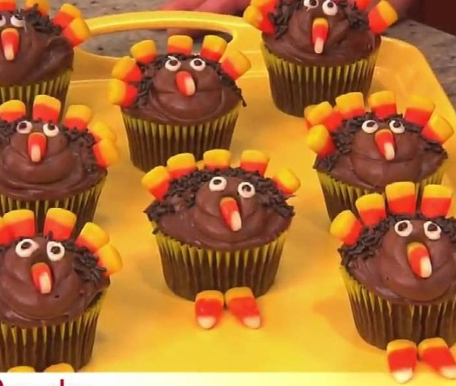 How To Make Thanksgiving Turkey Cupcakes Cake Decorating Wonderhowto