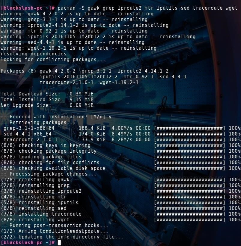 Linux Basics for the Future Hacker, Part 1 Using Ship for