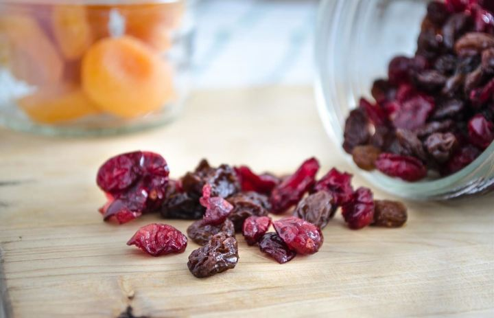 Ninja Foodi Dehydrated Chewy Cherries