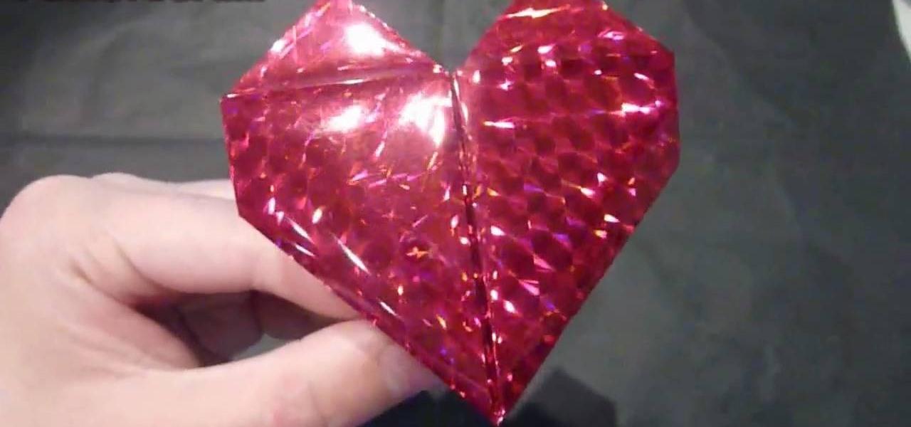 How To Make A Romantic Origami Beating Heart Origami