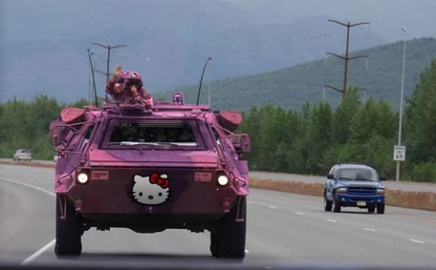Image result for hello kitty guns