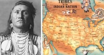 Bildergebnis für Karte der Indianerstämme: ein Stück Geschichte, das NIE in Schulbüchern erscheint