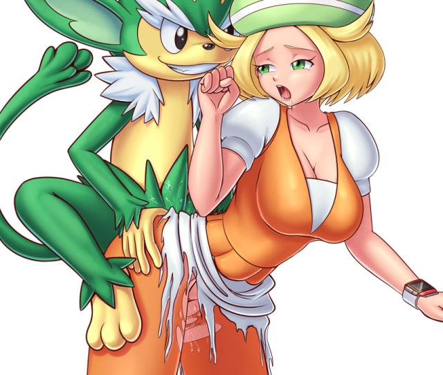 Bel_pokemon Bianca Big_breasts Breasts Cleavage Female Hentai Foundry Interspecies Male Money Patreon