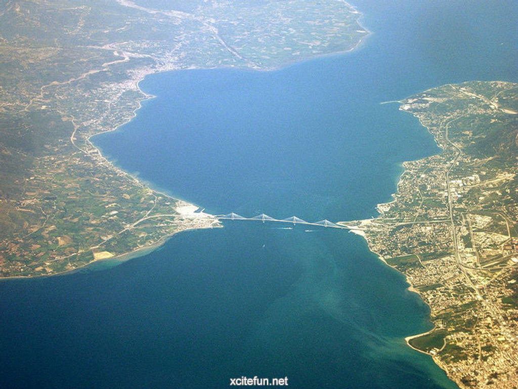rio antirrio bridge greek wallpapers - xcitefun