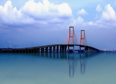 Suramadu Bridge Images n Detail - Madura Indonesia ...