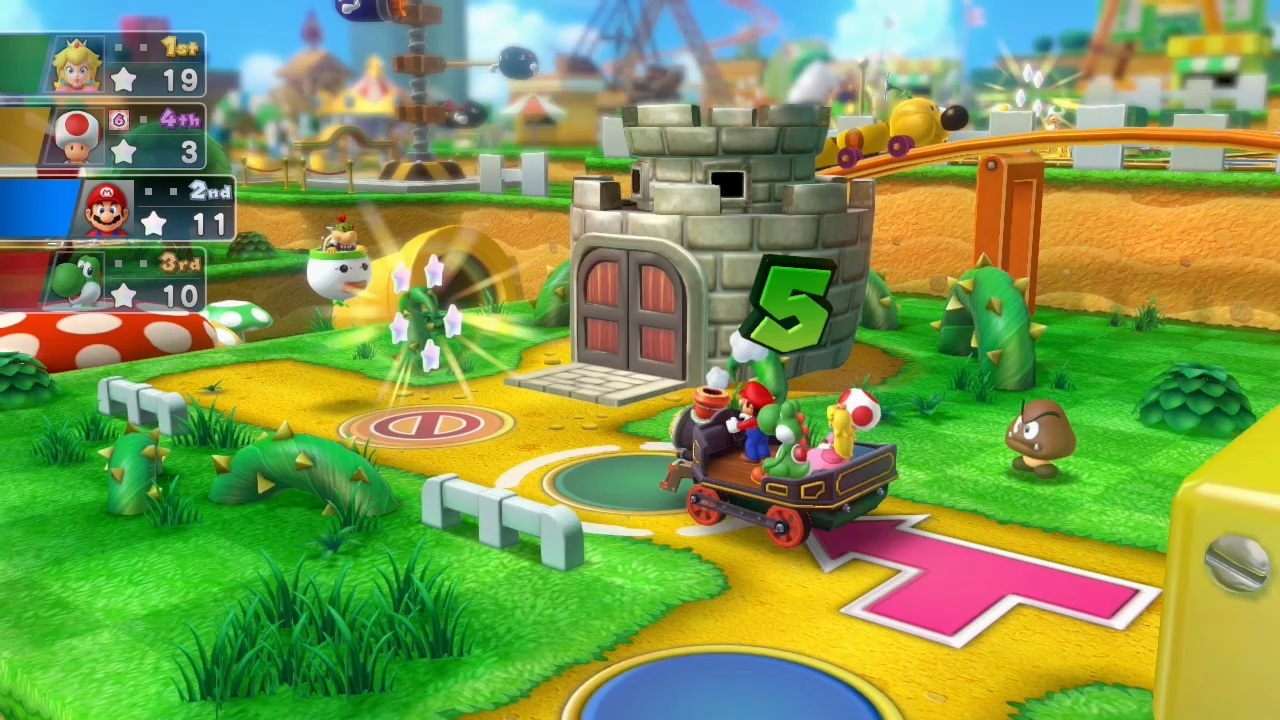 Mario Party 10 Gaming Wallpapers And Trailer