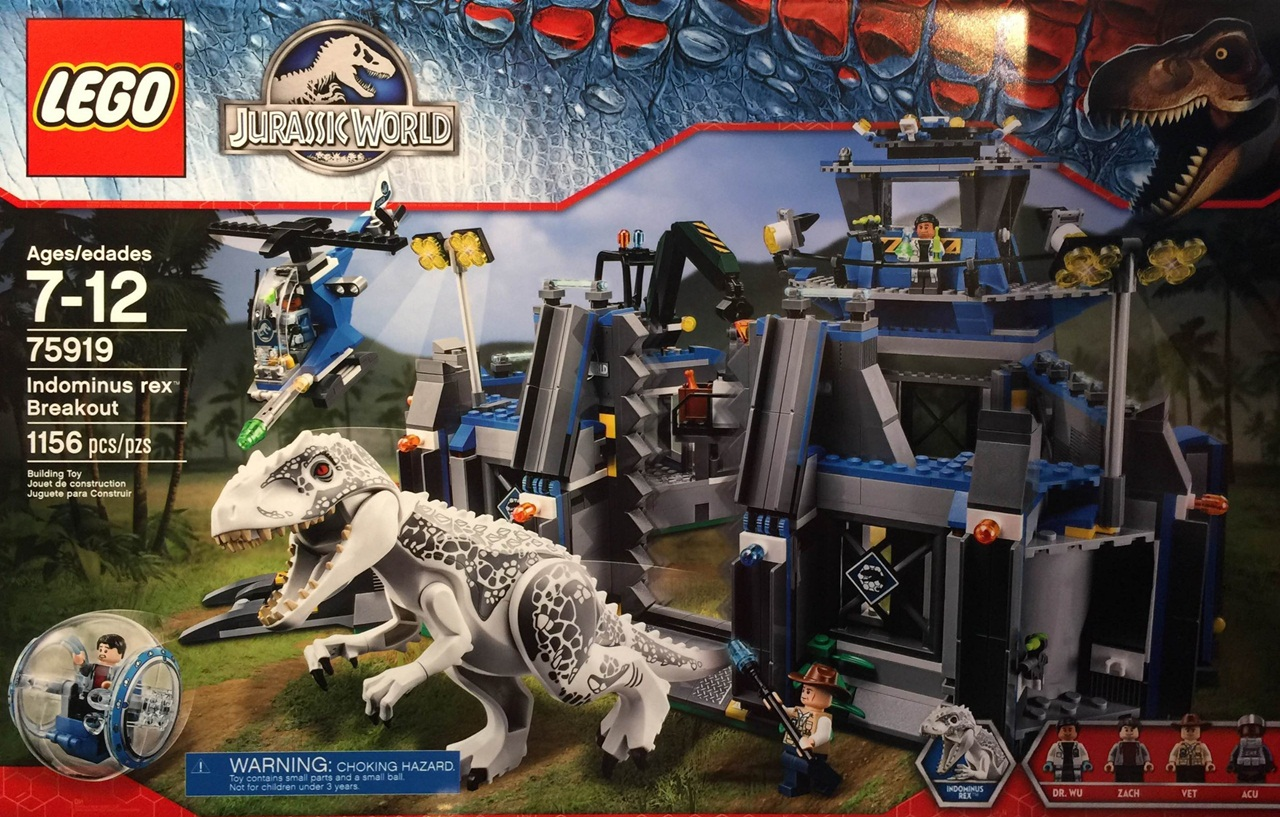Lego Jurassic World Game Trailer And Wallpapers