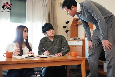 DASD-885 The Female Private Tutor that I Liked was Stolen and Fucket with a Mating Press by my Dad. Himari Kinoshita