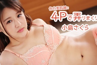 Heyzo HD 2526 Foursome Fantasy With A Porcelain Skin Girl