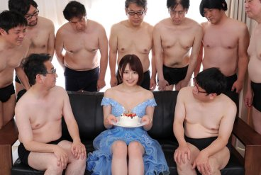 MKMP-413 BUKKAKE Unleashed: All Real Sperm, 53 Shots - Nako Hoshi