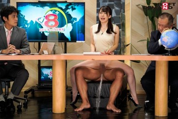 SDDE-638 Female News Anchors Squirting And Pissing In The Middle Of Their Broadcasts Calmly Read Their Scripts