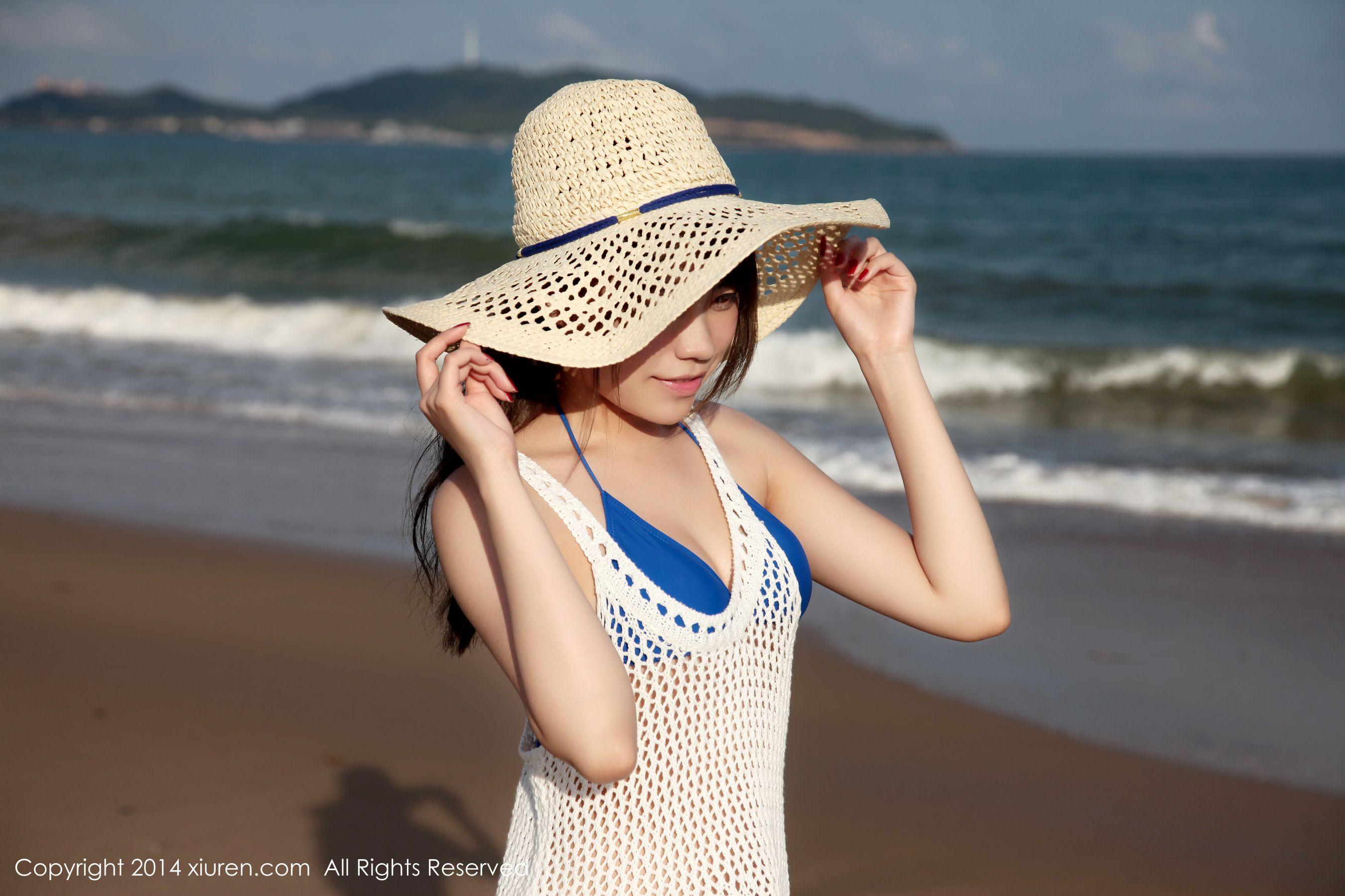 图片[5] - 许诺Sabrina《海边小清新系列》 [秀人网XiuRen] No.167 写真集[53P] - 唯独你没懂