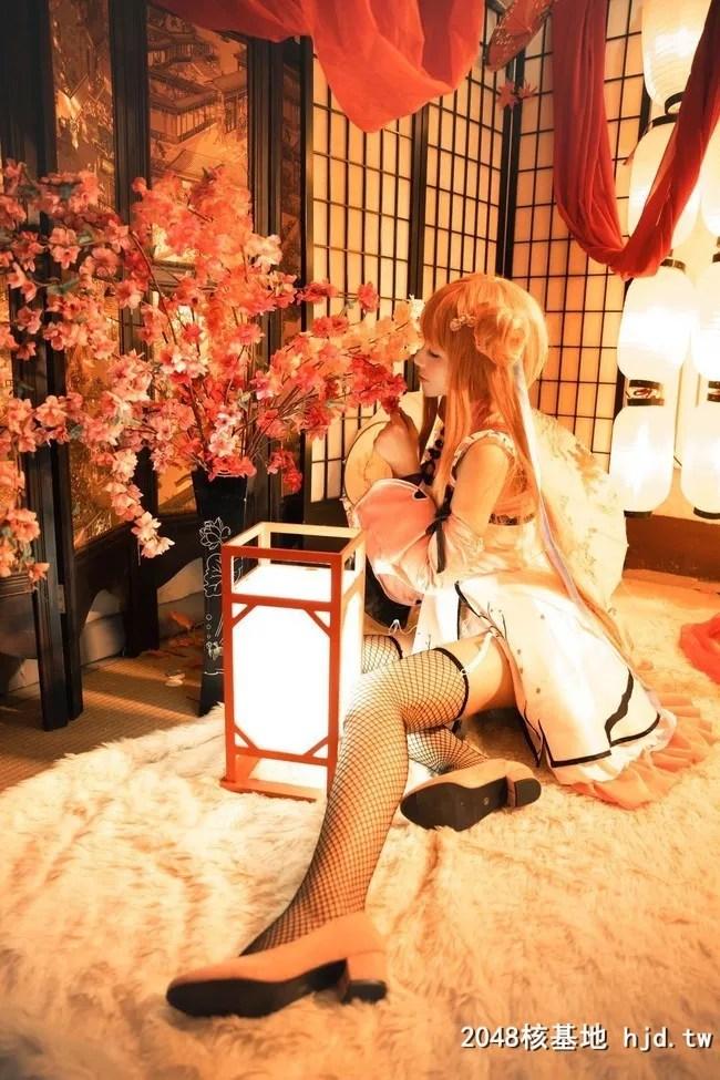 《幻想金瓶梅》春梅黑网袜性感Cosplay【CN:小幻仔】 (9P)插图(5)