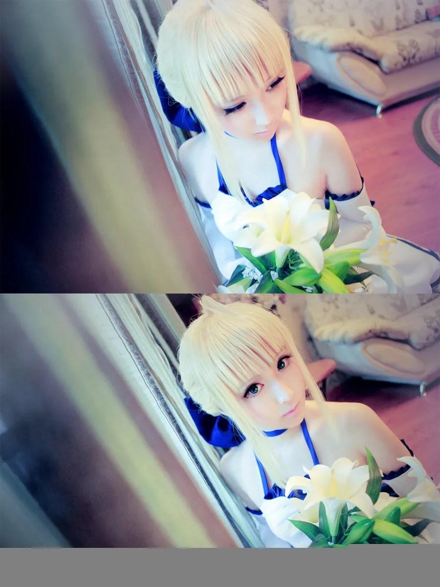 《Fate/stay night》Saber女王Cosplay【CN:水水】 (20P)插图(8)