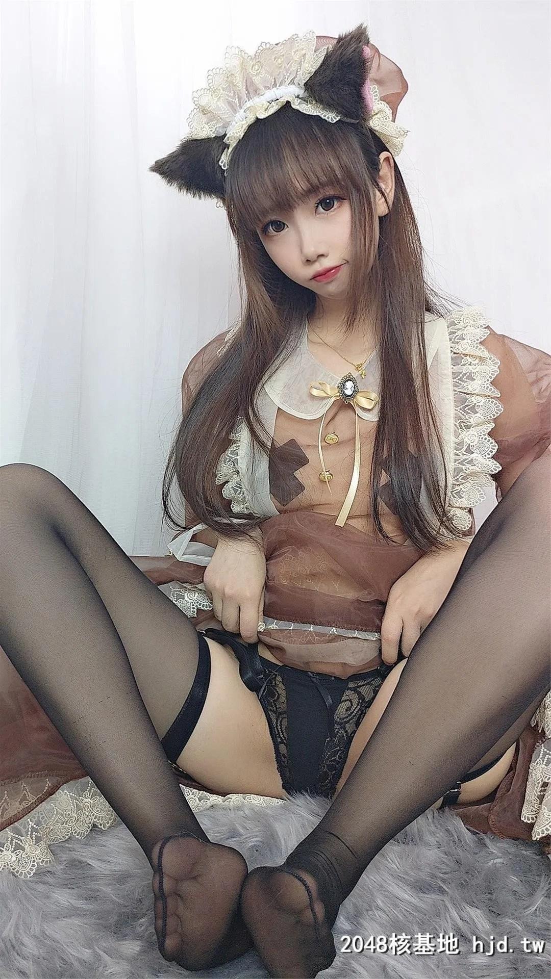 【Cos小姐姐雪琪】 透明女仆 [43P]插图
