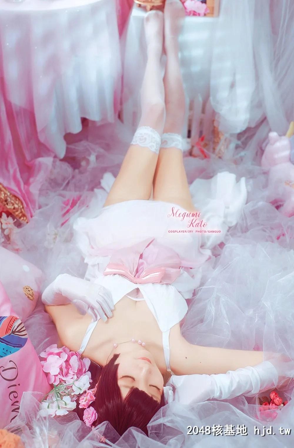 路人女主的养成方法加藤惠 BD特典礼服ver.@艾瑞有点甜 (9P)插图(8)