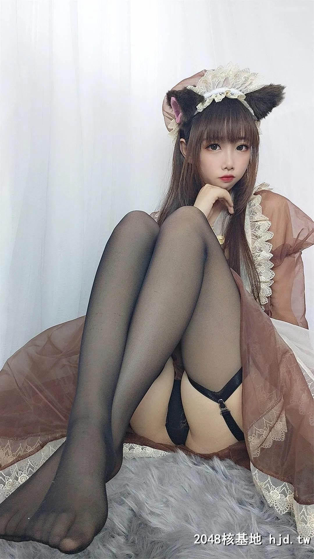 【Cos小姐姐雪琪】 透明女仆 [43P]插图(1)
