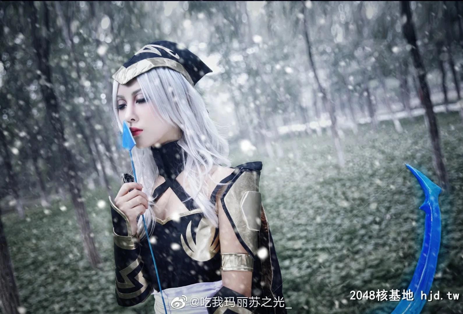 英雄联盟寒冰射手艾希@吃我玛丽苏之光_ (9P)插图(2)