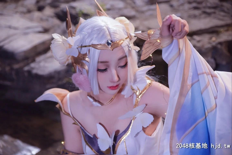 《王者荣耀》金色仲夏夜之梦貂蝉Cosplay【CN:柠檬 汽酒】 (9P)插图(1)