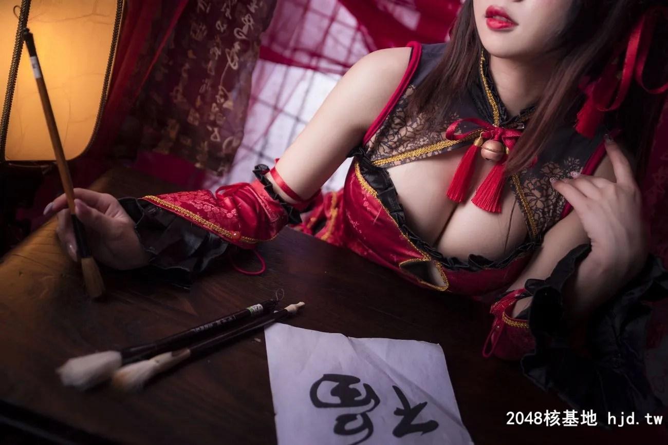 《约会大作战》时崎狂三中国旗袍Cosplay【CN:鬼畜瑶在不在w 】 (22P)插图(6)