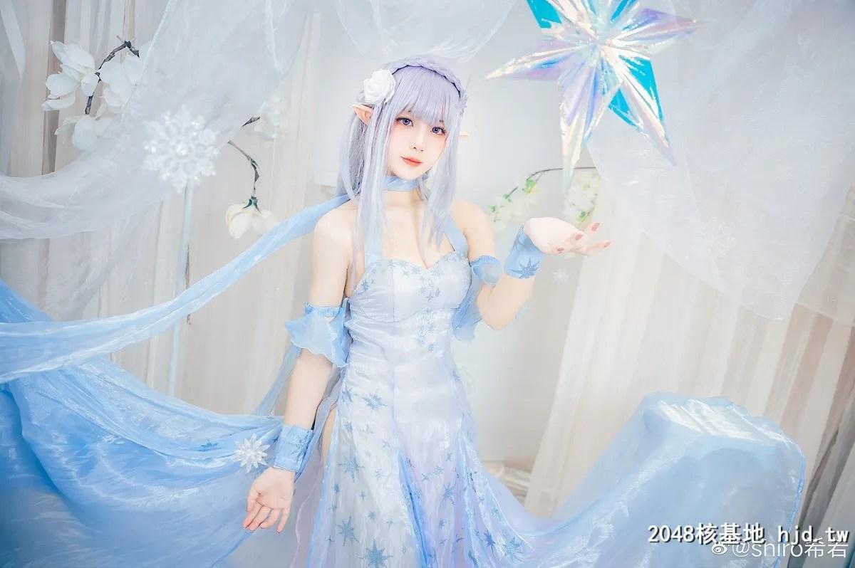 Re:从零开始的异世界生活艾米莉亚水晶礼服@shiro希若 (9P)插图(6)