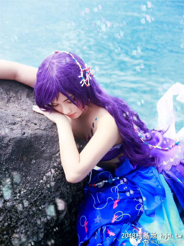 LoveLive!东条希 人鱼觉醒 @Yukina-大坨 (9P)插图(1)