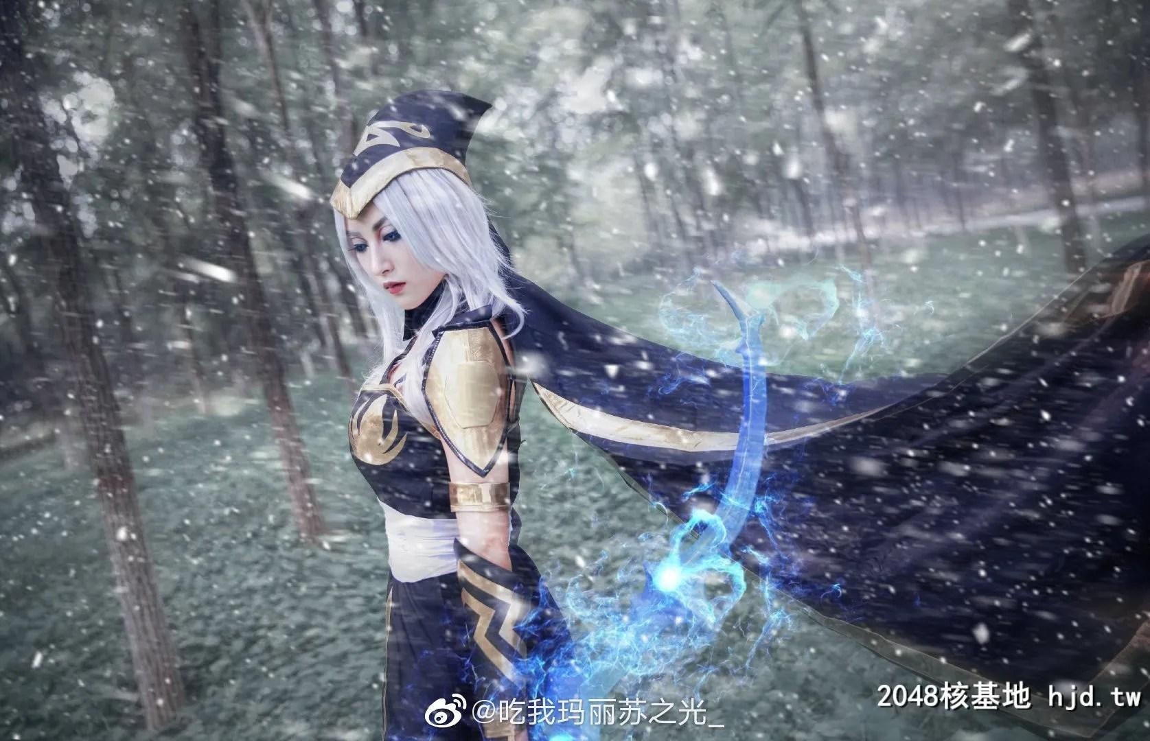 英雄联盟寒冰射手艾希@吃我玛丽苏之光_ (9P)插图(1)