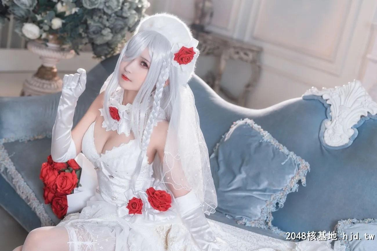 《少女前线》G36C婚纱皮肤Cosplay【CN:三度_69】 (40P)插图(5)