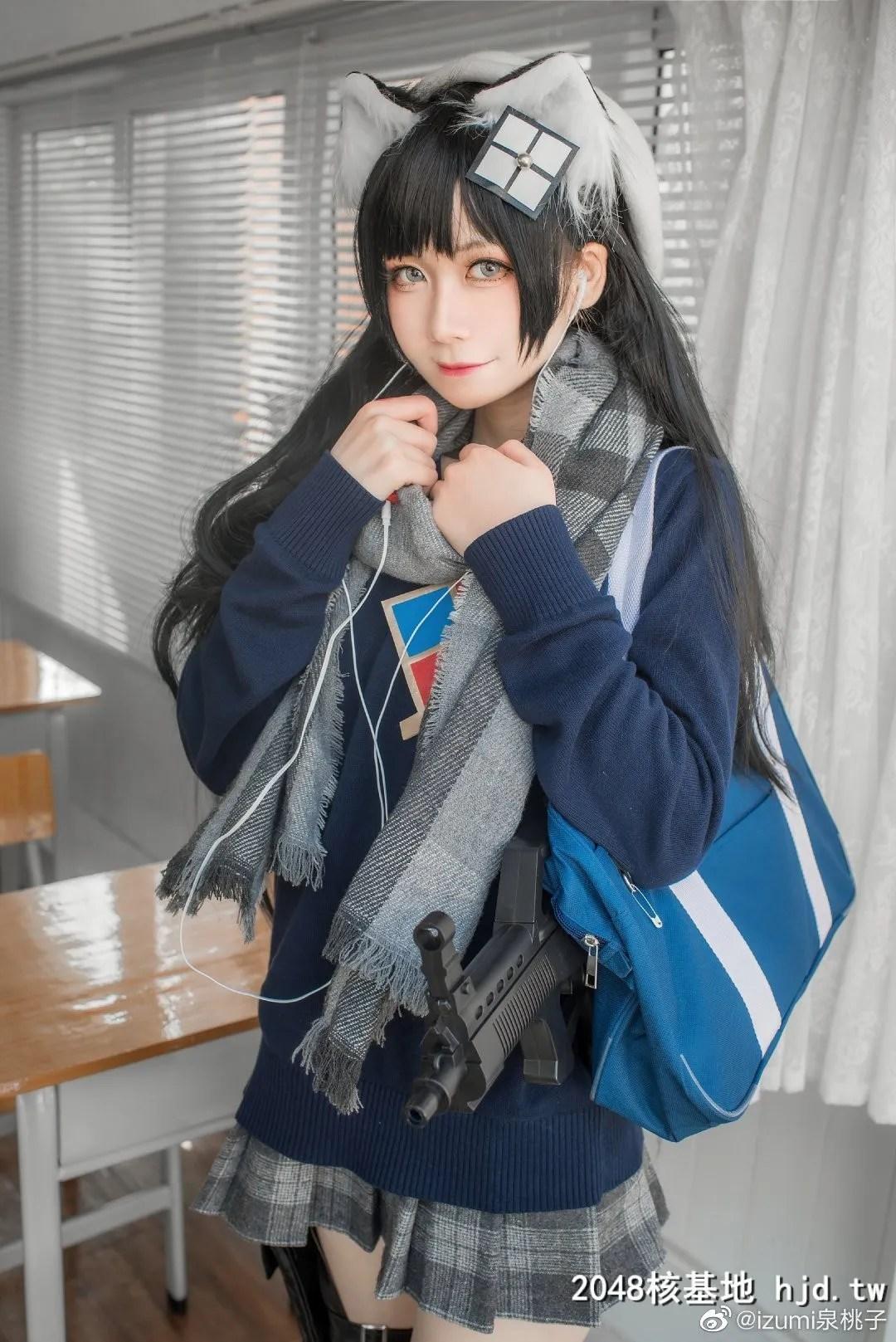 少女前线95式-纯白毕业季@izumi泉桃子 (9P)插图(5)