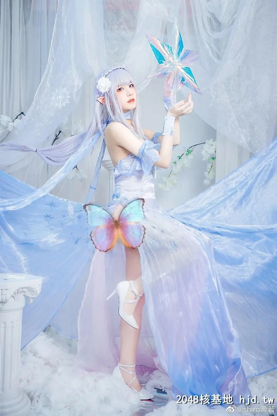 Re:从零开始的异世界生活艾米莉亚水晶礼服@shiro希若 (9P)插图(7)