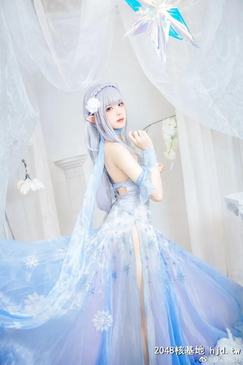 Re:从零开始的异世界生活艾米莉亚水晶礼服@shiro希若 (9P)插图(3)