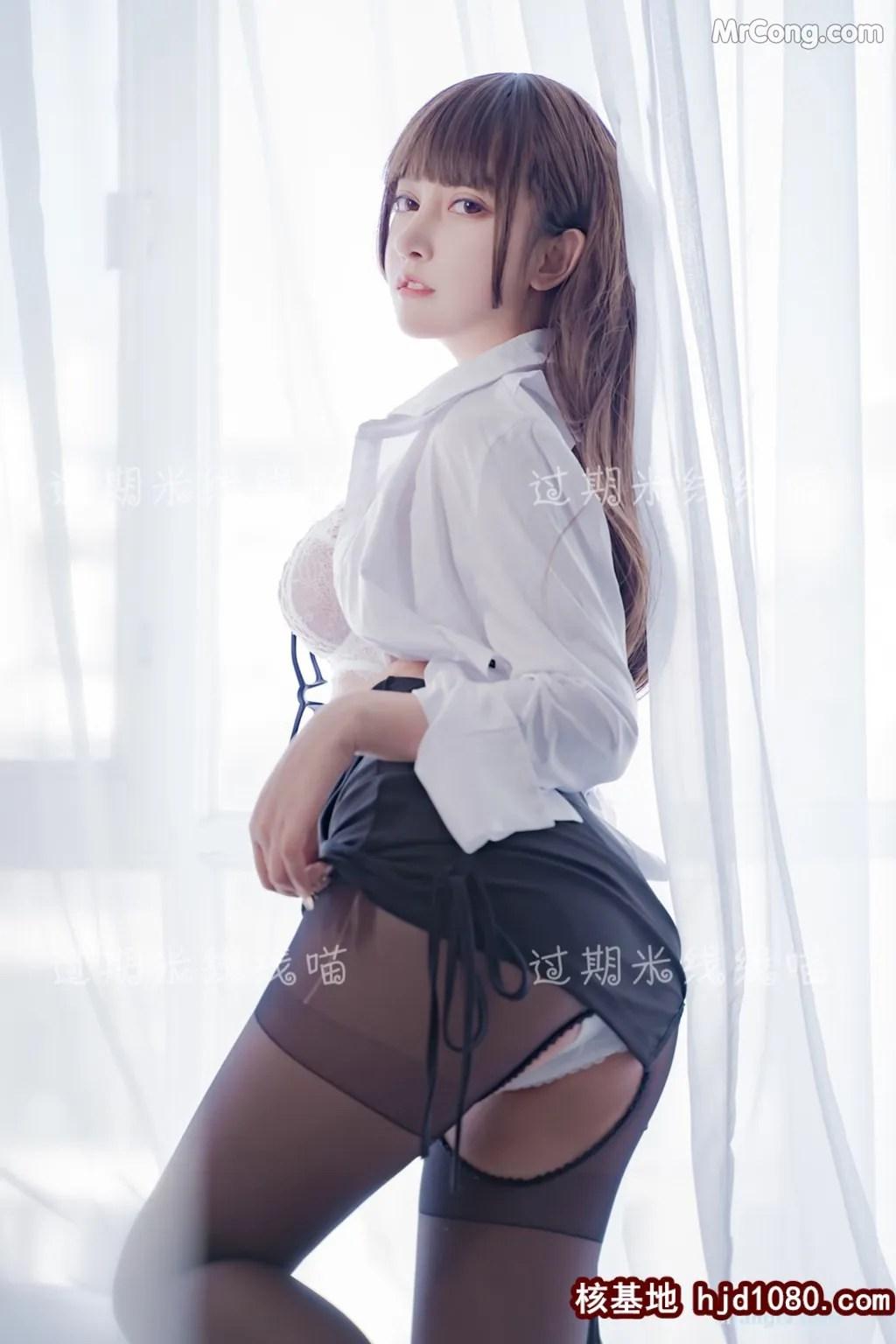 图片[3] - Coser @ 过期 米线 线 喵 OL 情欲 (24P) - 唯独你没懂