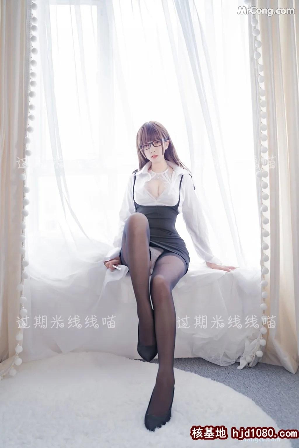 图片[11] - Coser @ 过期 米线 线 喵 OL 情欲 (24P) - 唯独你没懂