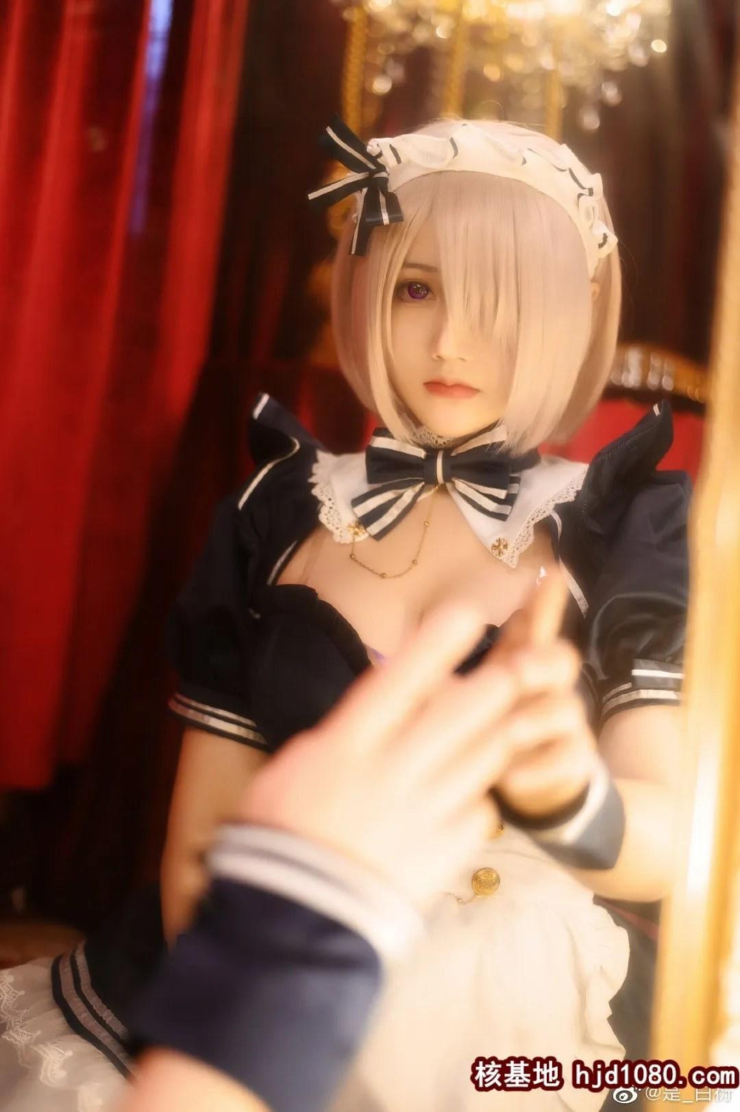图片[4] - FGO 玛修·基列莱特 同人女仆 @是_白衍 (10P) - 唯独你没懂