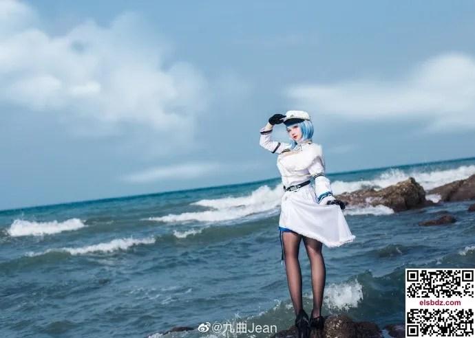 碧蓝航线恰巴耶夫cos 顶级帅气迷人 cn九曲Jean (10P)插图(6)
