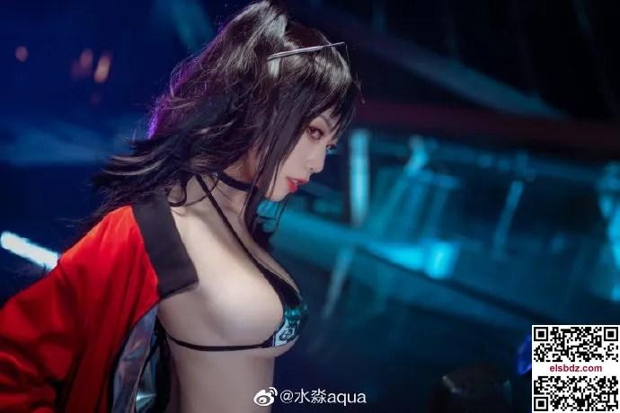 碧蓝航线 大凤机车cos CN水淼aqua (12P)插图(11)