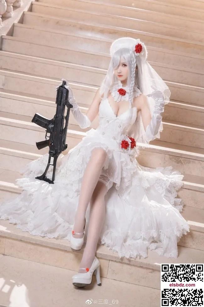 少女前线 G36C迈出步伐的你 白色礼服cos CN三度 (10P)插图(7)