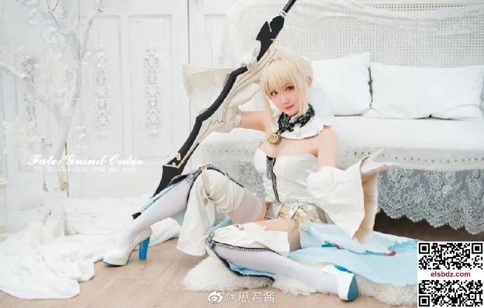 Fate/GrandOrder 尼禄·克劳狄乌斯花嫁cos CN瓜希酱 (9P)插图(3)