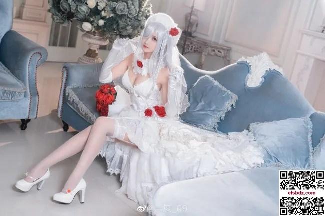 少女前线 G36C迈出步伐的你 白色礼服cos CN三度 (10P)插图(4)