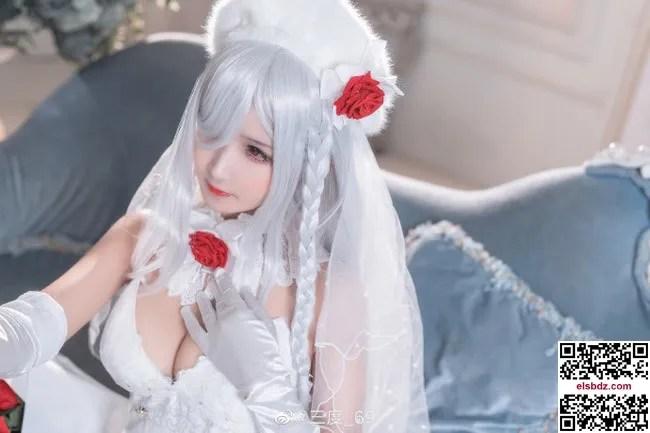 少女前线 G36C迈出步伐的你 白色礼服cos CN三度 (10P)插图(1)