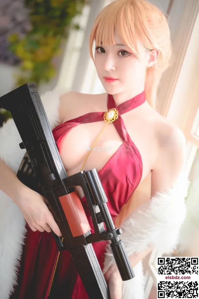 少女前线OTs-14晚宴的统治者cos cn豆梓吖 (16P)插图(6)