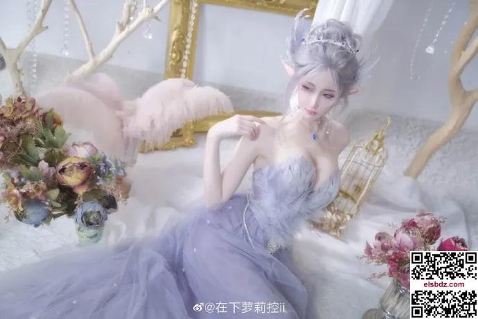 鬼刀海琴烟cos,冰公主的唯美仙气 cn在下萝莉控ii (12P)插图(6)