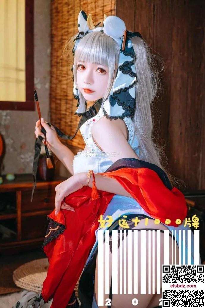 碧蓝航线可畏旗袍cos甜美动人 cn日奈娇 (12P)插图(2)