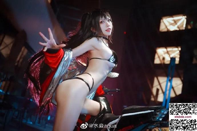 碧蓝航线 大凤机车cos CN水淼aqua (12P)插图(4)