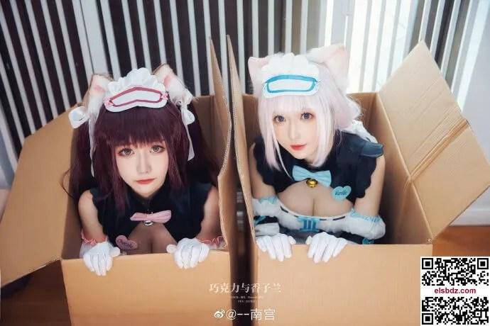 巧克力与香草cos,七夕甜蜜限定 Momoko葵葵&南宫 (15P)插图