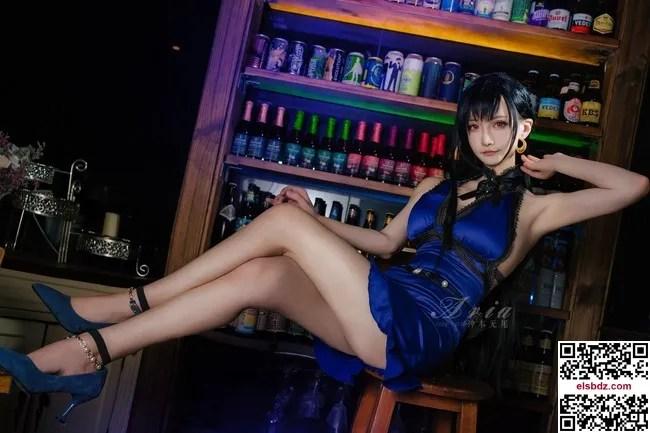 最终幻想7重制版蒂法cos Tifa Lockhart 礼服.ver cn神本无尾 (12P)插图(6)