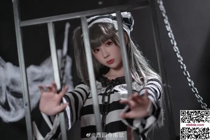 碧蓝航线水星纪念cos 囚牢与诱惑ver. cn西园寺南歌 (10P)插图(2)